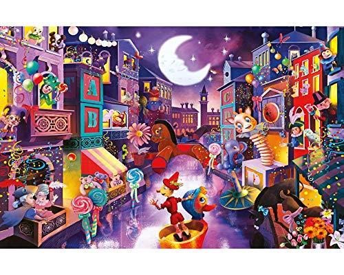 Puzzle 1000 Piezas, Puzzle Adultos Ciudad De Marionetas 1000 Piece Jigsaw Puzzles para Adultos (70X50Cm)