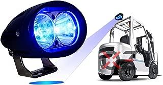 Blue Forklift Led Light Warehouse Safety Warning Lamp Spot Offroad Race 12V 48V