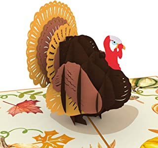 Unipop Cards Thanksgiving Turkey Pop Up Cards, 3D Card, Pop Up Greeting Card, Handmade Card, Greeting Card, Christmas cards, Thanksgiving greeting cards, 3D pop up cards