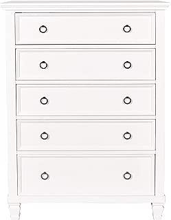 New Classic Furniture Tamarack Chest, White