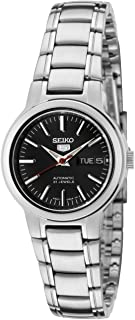 Women's SYME43 Seiko 5 Automatic Black Dial Stainless Steel Watch