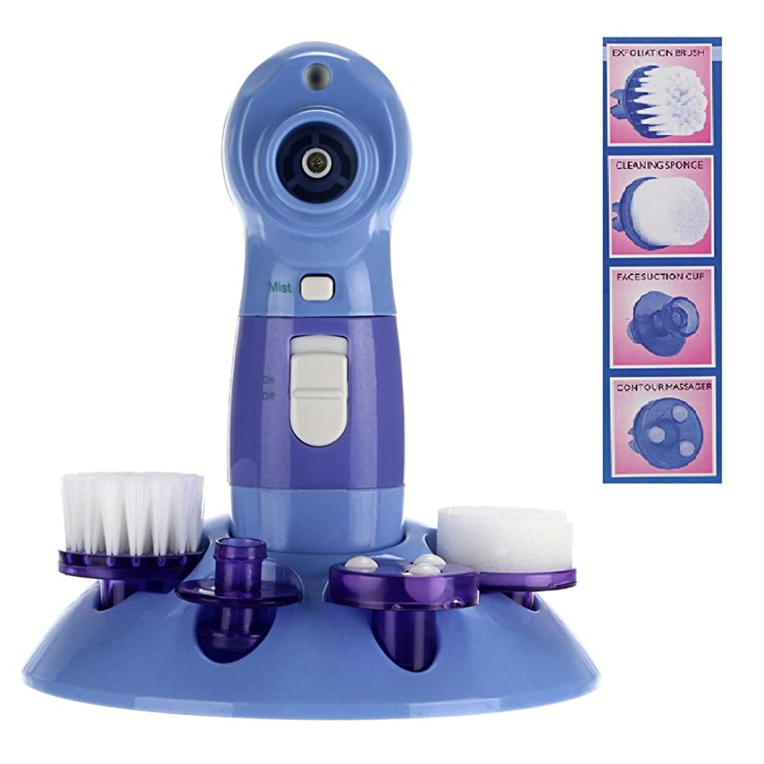 いろいろ触手建物4 in 1 Multifunctional Power Perfect Pore & Electric Facial Cleaning Brush Skin Cleaner Face Washing Machine Blackhead Remover 4 in 1多機能電気洗顔ブラシ?スキンクリーナー?洗顔機?にきび?毛穴の汚れ?黒ずみ?角質ケア