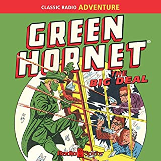 Green Hornet: The Big Deal audiobook cover art
