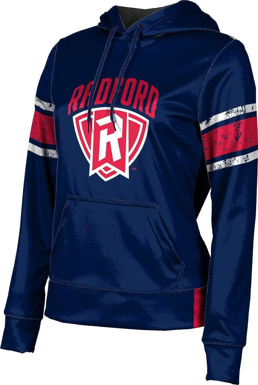 ProSphere Radford University Girls' Pullover Hoodie, School Spirit Sweatshirt (End Zone)