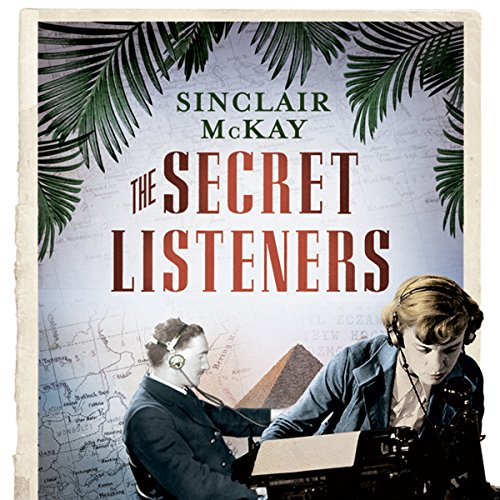 The Secret Listeners audiobook cover art