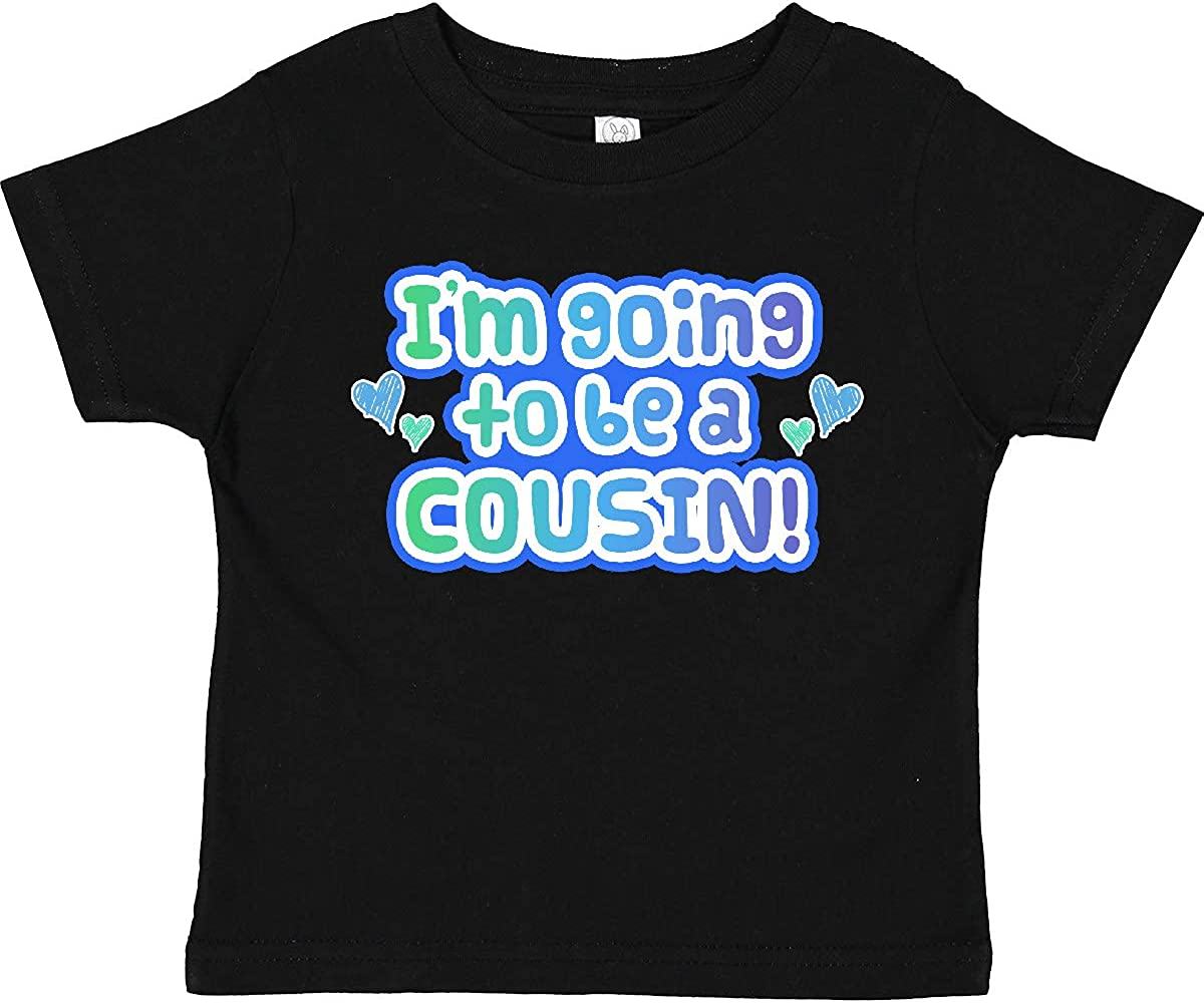 inktastic I'm Gonna Be a Cousin Toddler T-Shirt