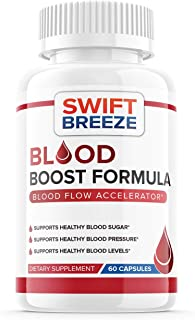 Blood Boost Formula Pill Supplement, Blood Boost Formula for Diabetes Capsules - Blood Sugar Support for High Blood Pressu...