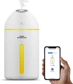 meross Smart Humidifiers for Babies, 320ML Cool Mist Humidifier for Bedroom Work with Amazon Alexa and Google Assistant, F...