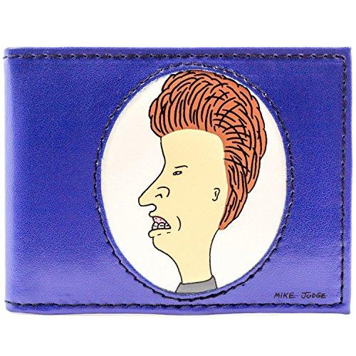 MTV Beavis & Butt-Head Karikatur Blau Portemonnaie Geldbörse