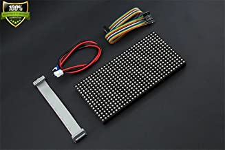 32x16 RGB LED Matrix Panel (6mm pitch) Two IDC connectors One input interface One output interface 1/8 Scan Driver Display One 5V @ 2A power supply IDC patch cord Power cable IDC to IDC cable