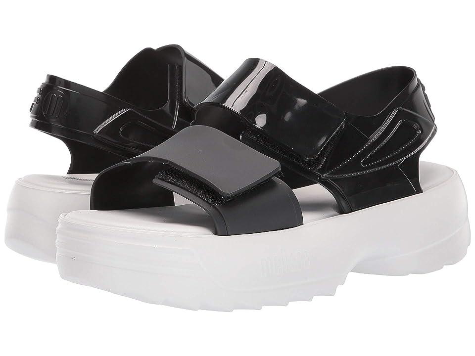 + Melissa Luxury Shoes x Fila Sandal  Black