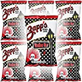 Zapp's Potato Chips, VooDoo Heat, New Orleans Kettle Style, 1.5oz Bag (6-Pack)