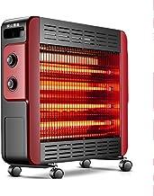Radiador eléctrico Calentador de 2200 vatios de Ahorro de energía hogar baño Estufa Tostado calefacción de Fibra de Carbono