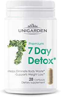 Premium 7 Day Detox, Unigarden, Natural Body Cleanser, Supports Healthy Weight Management