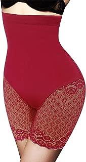 Larry&Marry Women lace Body Shaper Tummy Control Butt Lifter high Waist Slimming Panties Waist Trainer