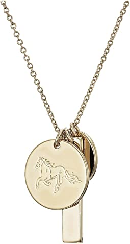 "24"" Horse Charm Pendant Necklace"