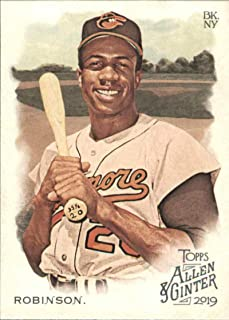 2019 Allen and Ginter Baseball #277 Frank Robinson Baltimore Orioles Official MLB Trading Card From Topps