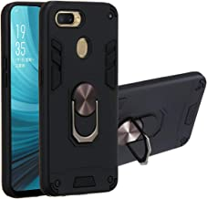 Oppo A7 Case, Oppo A5S Case, Gift_Source 2 in 1 Dual Layer Shockproof Case Hybrid Hard PC and Soft TPU Silicone Cover Slim...