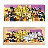 CTRQA Tappetini per Il Mouse Anime Manga Patchwork   900 X 400 MM   Mousepad XXL   Perfetta Precisione E velocità   Adatto per Gaming e Ufficio Dragon Dan-P
