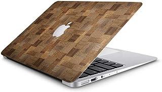 e29e7908631 Vinyl Revolution Funda para MacBook Air de 13 Pulgadas con Bloques de Madera  Tallada