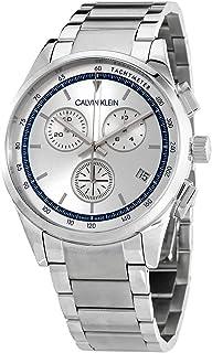 Calvin Klein Completion Chronograph Quartz Silver Dial Men's Watch KAM27146