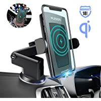 Pleson 10W/7.5W Fast Charging Dashboard & Vent Car Phone Holder