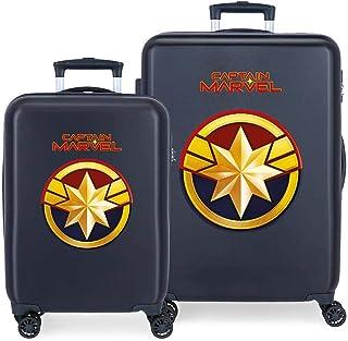 Marvel Boys' Suitcase Set, Captain, 55/68