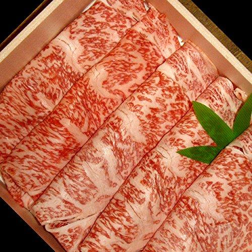 【敬老の日 プレゼント・カード付】村上牛 すき焼き用 リブロース 200g