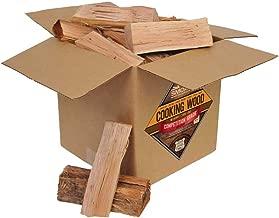 Smoak Firewood Cooking Wood Logs - USDA Certified Kiln Dried (Pecan, 25-30 lbs)