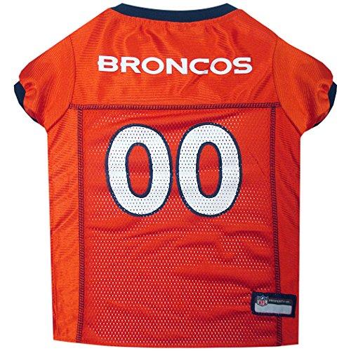 NFL DENVER BRONCOS DOG Jersey, X-Small