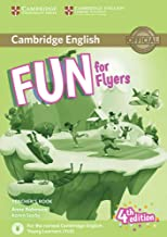 Fun for Flyers. Teacher's Book with downloadable audio. 4th Edition