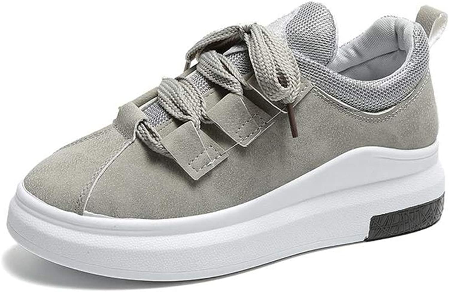 T-JULY Spring Wedges Platform Sneakers Women Casual Vulcanize shoes