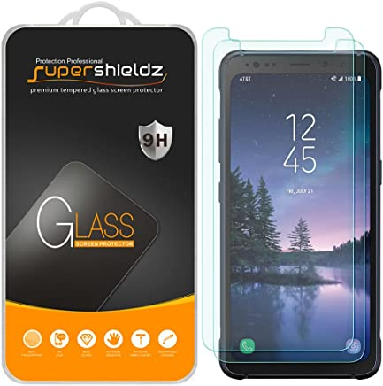Supershieldz [2-Pack] for Samsung (Galaxy S8 Active) [Not Fit