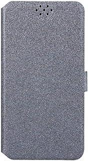 حافظة لهاتف سامسونج جالاكسي A7 2018 حافظة بغطاء قلاب ومحفظة جلدية لهاتف سامسونج جالاكسي A7 2018 غطاء حماية للهاتف بتصميم ا...