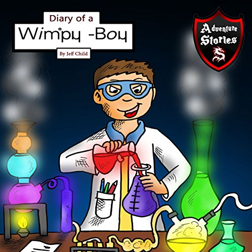 Diary of a Wimpy Boy audiobook cover art