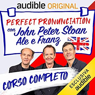 Perfect pronunciation con John Peter Sloan, Ale e Franz. Serie completa copertina