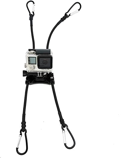 Action Camera Chain Link Fence Mount for Gopro Action Cameras - Ideal Backstop Camera Mount for Recording Baseball,Softball and Tennis Games