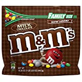 M&M'S Milk Chocolate Candy Family Size 19.2-Ounce Bag