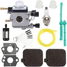 Trustsheer C1Q-S64 C1Q-S68 Carburetor w Tune Up Kit Air Filter Fuel Line for Stihl BG55 BG45 BG65 BG85 BG46 SH55 SH85 Leaf Blower Carb Zama C1Q-S68G Replace 42291200606 4229 120 0606