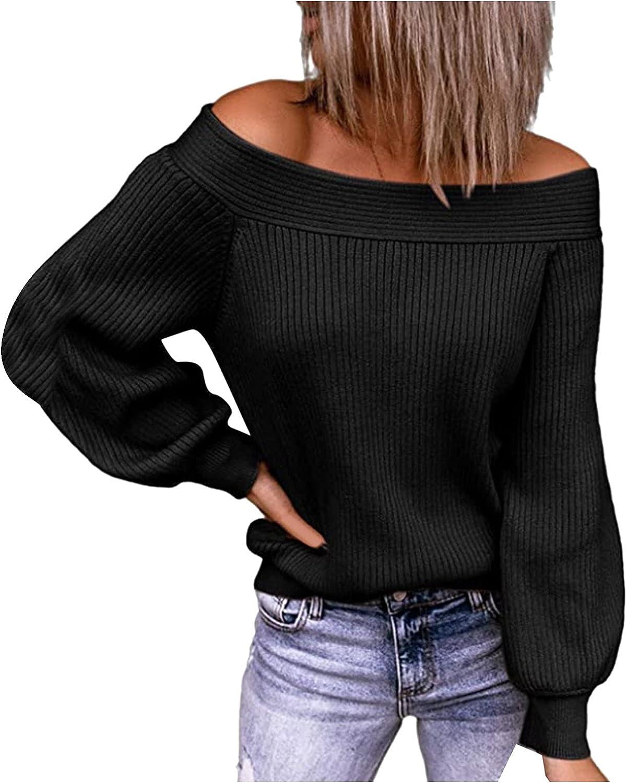 Womens Long Sleeve Sweaters Tops Summer Soft Crew Neck Dot Pullover Shirt Lightweight Knit Sweater Blouse