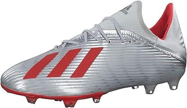 Adidas X 19.2 Fg Voetbalschoenen voor heren, Vert Orange Fluo Blanc Craie