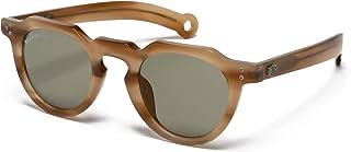 Hally & Son Deus DH505S04 - Gafas unisex, color marfil, 46 24 145