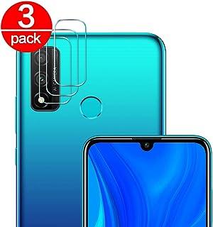 [3 Pack] Cristal Templado para Lente Cámara de Huawei P Smart 2020, Ultra Fino Protector 2.5D 9H de Dureza Cámara Trasera Lente Película de Pantalla