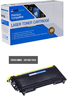 Inksters Compatible Toner Cartridge Replacement for Brother TN350/TN2000/TN2025 Black Jumbo - Compatible with HL 2030 2040 2070N DCP 7010 7020 7025 IntelliFAX 2820 2910 2920 MFC 7220