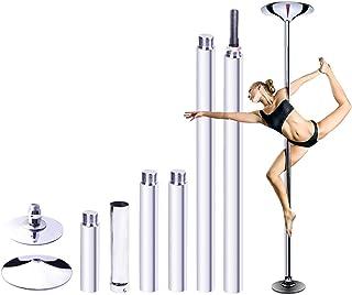 Details about  /Light Up Stripper Pole Adjustable Remote Control Dancer Dance Fitness PIPEDREAM