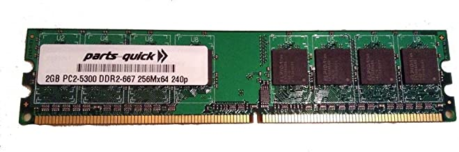 2GB Memory for IBM SurePOS 700 Series 4800-783 DDR2 PC2-5300 667MHz DIMM NON-ECC RAM Upgrade (PARTS-QUICK BRAND)
