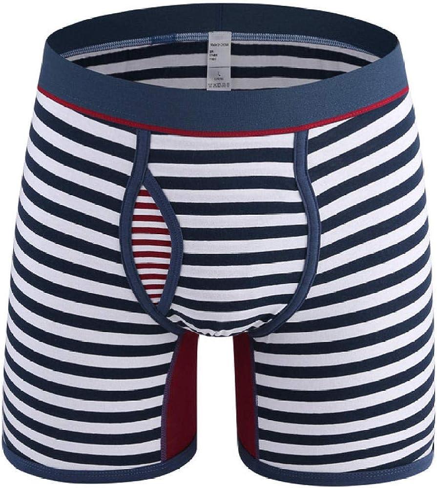 Boxer Briefs For High material Men 4Pcs Size Cheap sale Stripe Underwe Plus Lot