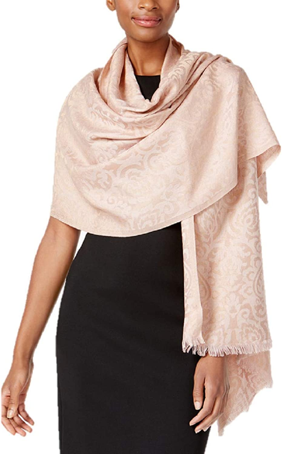 INC International Concepts I.N.C. Brocade Jacquard Wrap