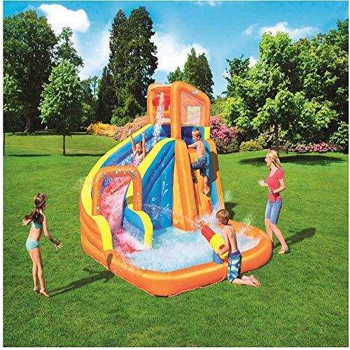inflatable toys Sommer Neue übergroße Wasserrutsche Aufblasbaren Pool, Baby Planschbecken Ocean Ball Pool Im Freien Surfen Windsurfen, Aufblasbare Spielzeuge - 365 * 320 * 270cm A