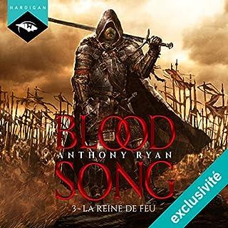 La Reine de feu (Blood Song 3) cover art